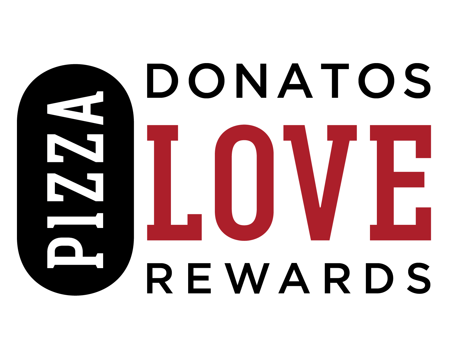 Donatos Pizza Love Rewards logo